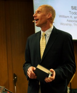Pdt. Prof. DR. Todd Johnson