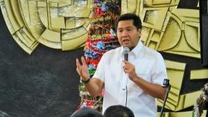 Ketua Panitia Natal Maruarar Sirait (Sumber Foto: Onlinekristen.com/victor)