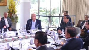 Presiden Jokowi bersama para pemimpin dunia