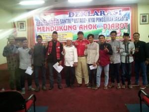 Para Santri, Kyai dan Ustadz Betawi Jakarta deklarasi mendukung Ahok-Djarot