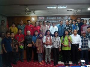 """Yayasan Forum Adil Sejahtera (FAS) meluncurkan Buku """"Pengusaha Wajib Membayar Upah Tertangguh"""", di Hotel Grand Menteng, Jakarta"""