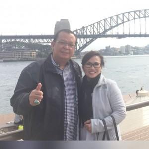 Ketua Umum Sinode GBI, Pdt. Dr. Japarlin Marbun dan Isteri