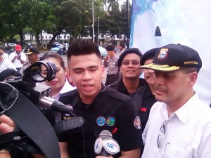 Kordinator Aksi Stephen Tambayong dan Suryo Admanto